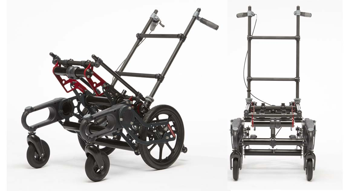 chunc adapt wheelchair middle view